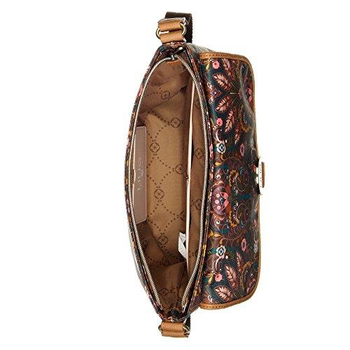 LiLiÓ Amsterdam Schultertasche M Flat Shoulder Bag Chestnut