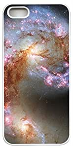 Generic Antennae Galaxy Fantasy Hard Case for iPhone 5s white