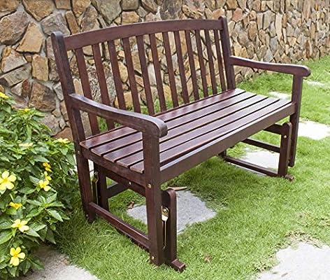 Outstanding Merry Garden Mpggdb01 2 Person Glider Bench Benches Patio Creativecarmelina Interior Chair Design Creativecarmelinacom