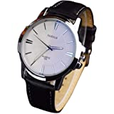 LinTimes Fashion Mens Watch Quartz Analog Business Watch