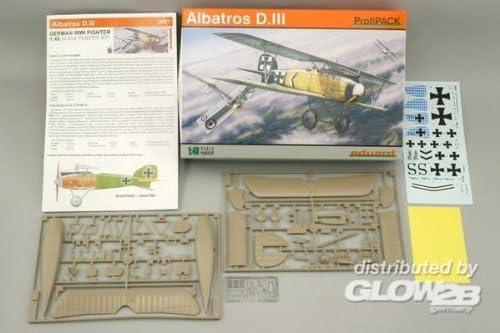 エデュアルド 1/48 アルバトロス D.III EDU8097 プラモデル