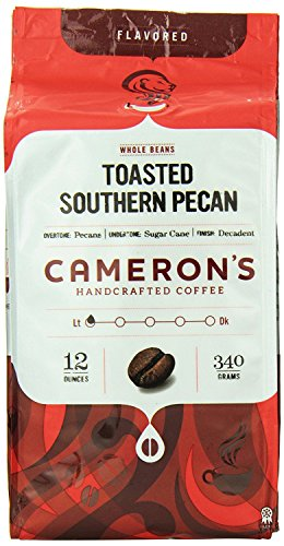 Cameron's Toasted Southern Pecan Whole Bean Coffee-12 oz Bag