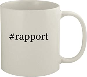 #rapport - 11oz Hashtag White Coffee Mug
