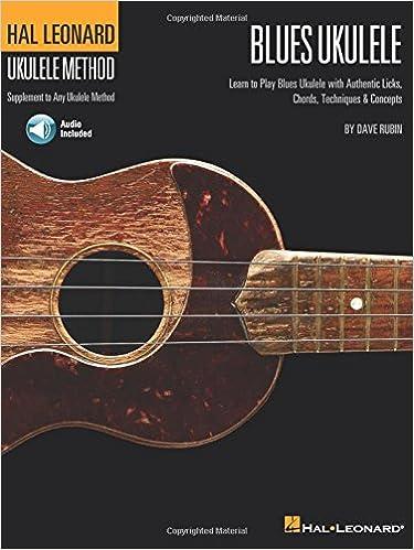 Amazon Hal Leonard Blues Ukulele Learn To Play Blues Ukulele