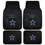 Front & Rear Car Truck SUV Floor Mats Heavy Duty