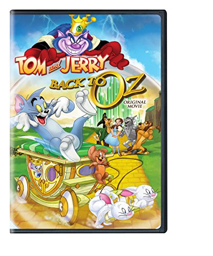 DVD : Tom And Jerry Back To Oz (AC-3, Eco Amaray Case, , Dolby)