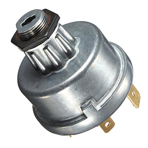 D DOLITY Easy Install Safety Tractor Plant Ignition Switch for Massey Lucas -