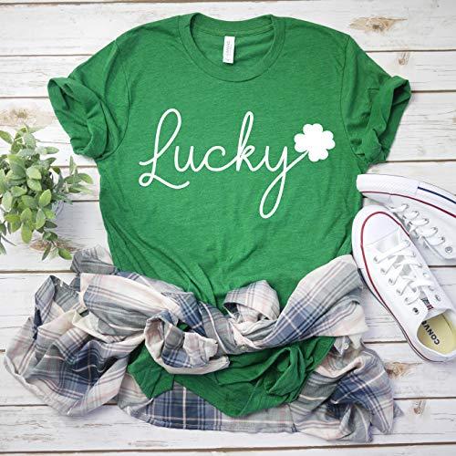 Women's St Patricks day tee Shamrock shirt Men's St Patty's day t-shirt lucky shirt St Patty's Day