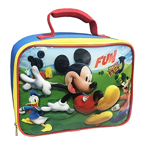 Disney MC29536-SC-BL00 Mickey Insulated Lunch Kit Blue