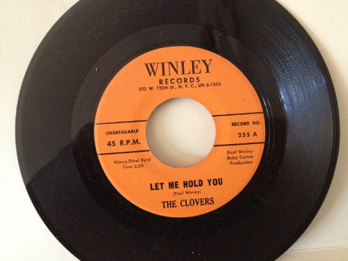 let me hold you / wrapped up in a dream 45 rpm single