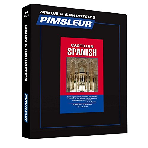 Pimsleur Spanish (Castilian) Level 1 CD: Learn to Speak and Understand Castilian Spanish with Pimsleur Language Programs (Comprehensive)