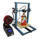 Wisamic 3D Printer CR-10S Prusa I3 with Dual Z Axis Leading Screws and Filament Detector Large Area 300x300x400mm