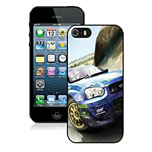 Fashionable and Grace Case Dirt Showdown Car Road Mountain Speed Black Case for iphone 5 5s 5th