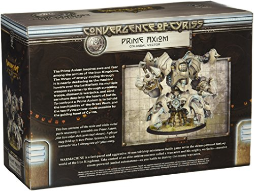Privateer Press - Warmachine - Convergence: Prime Axion Colossal Model Kit 4