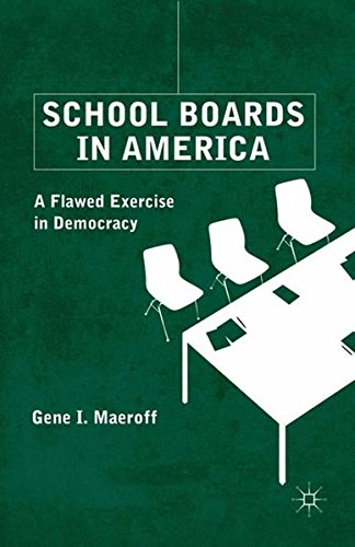 School Boards in America: A Flawed Exercise in Democracy
