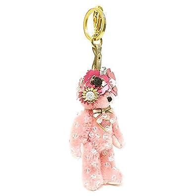 be44f416fe Amazon.com: Prada women's keychain keyring trick orsetto enea pink ...