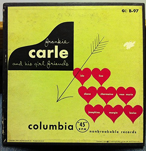 FRANKIE CARLE AND HIS GIRL FRIENDS 45 rpm single