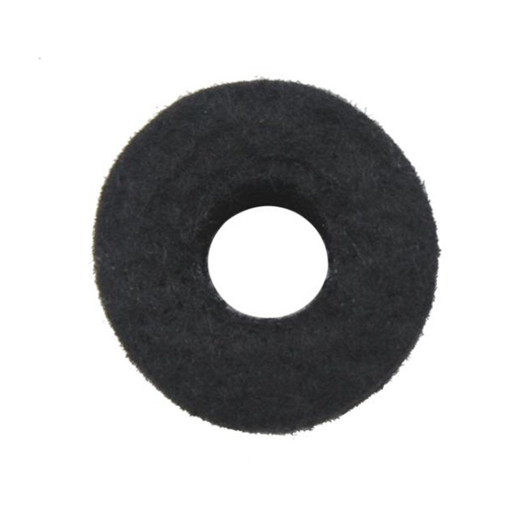 Homyl 10pcs Tall Thick Cymbal Felts Hi Hat Washers Percussion Drum Kit Pad Cushion