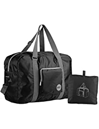 Foldable Travel Duffel Bag Luggage Sports Gym Water Resistant Nylon