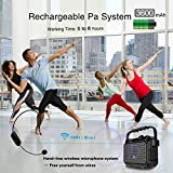 Portable Mini Bluetooth PA System with Wireless