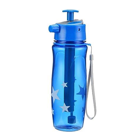 XUMENG Botella De Agua para Deportes, Squeeze 650ML A Prueba De ...