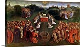 Jan van Eyck Gallery-Wrapped Canvas entitled Copy of The Adoration of the Mystic Lamb, from the Ghent Altarpiece