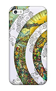 New YjcctJX7008vXFTE Colorful Artistic Skin Case Cover Shatterproof Case For Iphone 5/5s