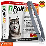 Image of Rolf Club 3D FLEA Collar for Dogs – Flea and Tick Prevention for Dogs – Dog Flea and Tick Control for 6 Months – Safe Tick Repellent – Waterproof Tick Treatment … (65LB)