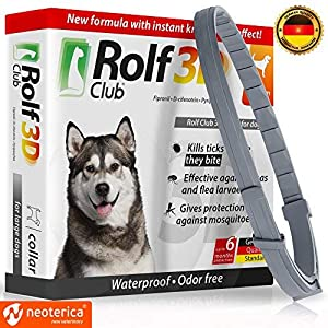 Rolf Club 3D FLEA Collar for Dogs