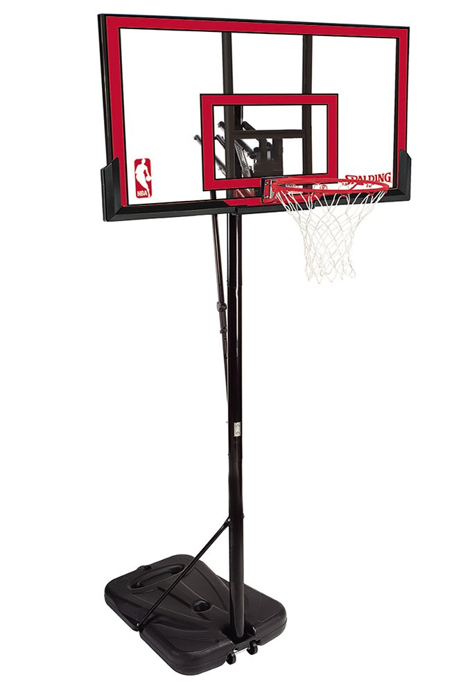 Spalding NBA Portable Basketball System - 48'' Polycarbonate Backboard