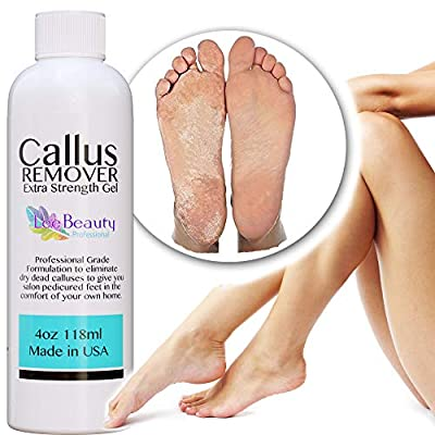 Best Callus Remover.Callus Eliminator,Liquid & Gel For Corn And Callus On Feet. Professional Grade, Does Better Job Than Electric Shaver&Other Scary Tools.