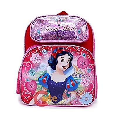 "85%OFF 2018 Princess Snow White School Backpack 12"" Small Girls Bag"