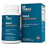 Dr Tobias Male Enhancement - Tongkat Ali, Horny Goat Weed, Maca - Natural Supplement (60 Count)