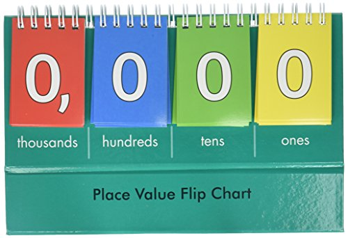 Learning Advantage Student Place Value Thousands Flip Chart