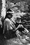 1900 Indian mother and child, Winnebago, near Kilbourne, Wisconsin Vintage 8x10 Photograph - Ready to Frame