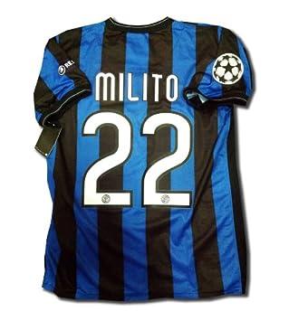 purchase cheap 5ee3c 76800 Inter Milan Final Madrid Home UCL 2009 2010 Football Shirt ...