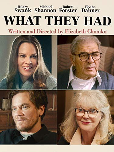 What They Had (Cast Of The Way We Live Now)