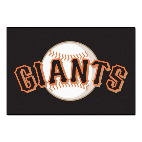 (FANMATS MLB San Francisco Giants Nylon Face Starter Rug)