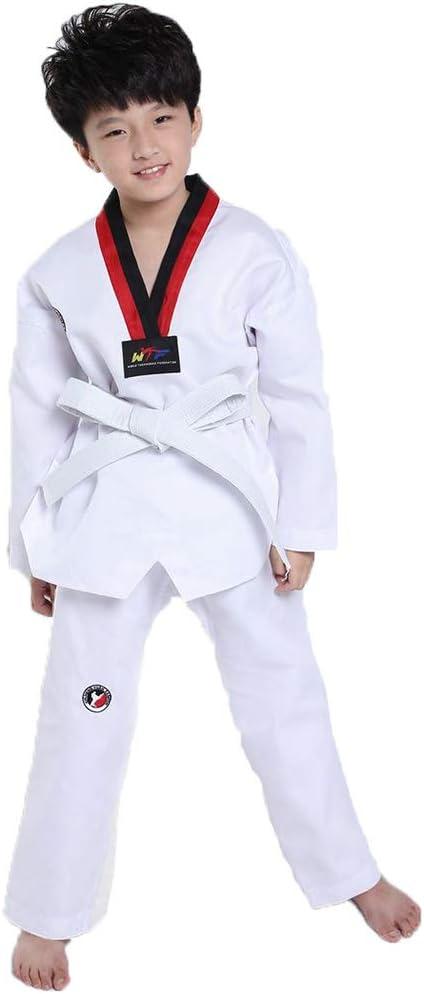 Costume Manga Corta Para Niños Ropa De Taekwondo De Manga Larga Ropa De Artes Marciales Para Hombres Y Mujeres De Otoño Y Verano Traje De Entrenador Ropa De Entrenamiento Amazon Es Hogar
