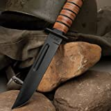BudK USMC Knife With Sheath, Outdoor Stuffs