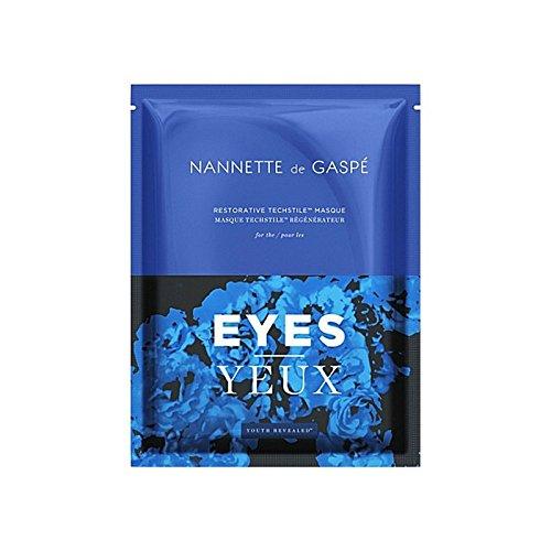 Nannette De Gaspe Restorative Techstile Eye Masque (Pack of 6) - デガスペ修復目の仮面劇 x6 [並行輸入品]   B0713SNNKZ
