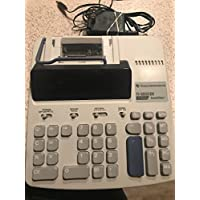 New TEXAS INSTRUMENT TI-5033 SV Super View Printing Office Calculator (Battery or AC Powered--Includes AC Adapter)