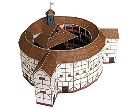 PaperLandmarks Globe Theatre Paper Model Kit By PAPERLANDMARKS
