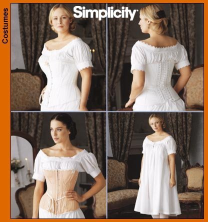 Amazon Simplicity Sewing Pattern 7215 Fashion Historian Misses