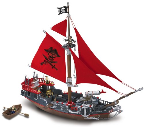Deluxe Pyrates Playset Assortment by Mega Brands (Pirates Of The Caribbean Life Game Rules)