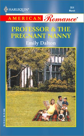 book cover of Professor & the Pregnant Nanny