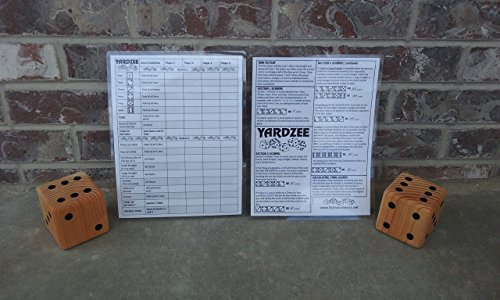 Yardzee Score Card