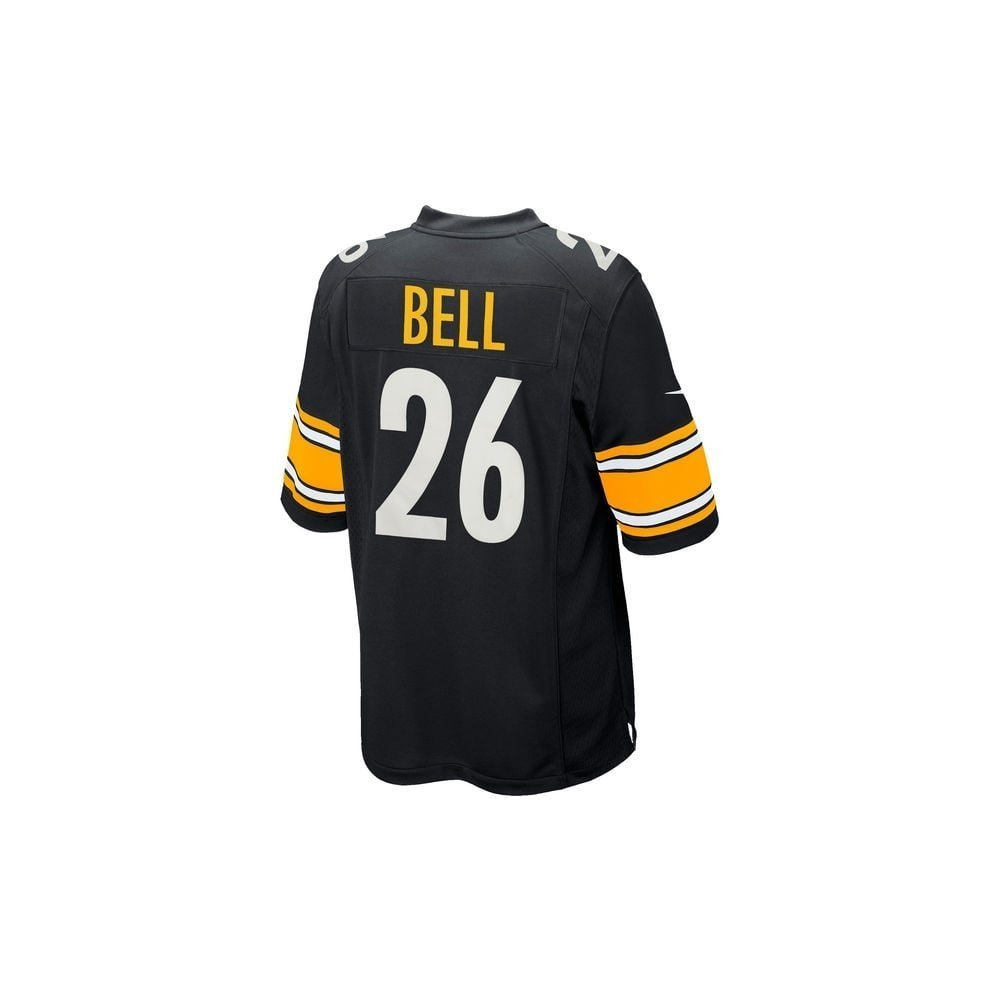 86cbea265 Amazon.com   Mens Pittsburgh Steelers Le Veon Bell  26 Black Game Jersey  (size xx-large)   Sports   Outdoors