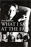 What I Saw at the Fair, Ann Birstein, 156649267X