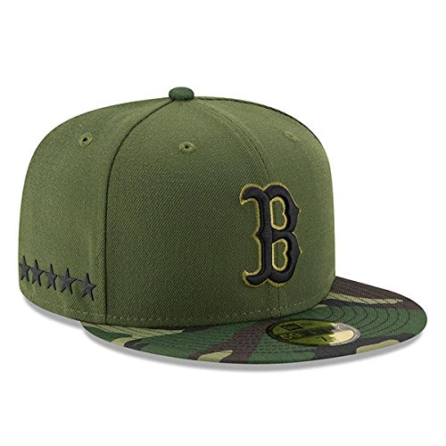 Boston Red Sox New Era 2017 Memorial Day 59FIFTY On Field Fitted Hat (7 1/2)